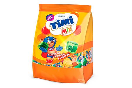 Желейные Timi Mix (Тими Микс) от Конти: яблоко, апельсин, малина