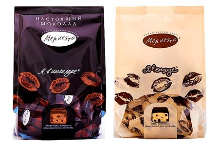Я в шоколаде Merletto (Мерлетто) со вкусом нуги и какао-нуги