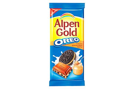 Alpen Gold OREO со вкусом арахисовой пасты (Альпен Гольд Орео)
