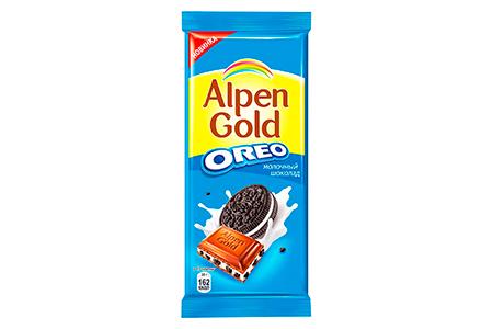 Alpen Gold OREO молочный шоколад (Альпен Гольд Орео)