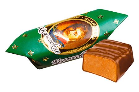 Княжеские сладости от Конти: весовые, темный и молочный шоколад с фундуком в наборах