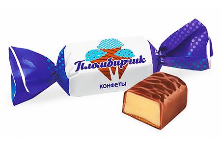 Пломбирчик от Konti со вкусом пломбира в шоколадной глазури