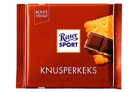 Риттер Спорт хрустящее печенье (Ritter Sport)