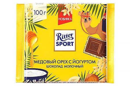 Ritter Sport медовый орех с йогуртом (Риттер Спорт) молочный
