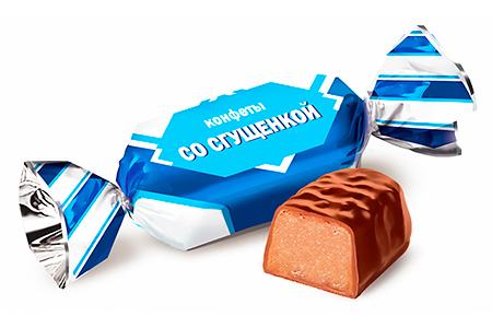 Конфеты со сгущенкой от Конти (Konti)