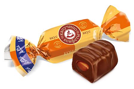 Шоколадные конфеты со вкусом Капучино от Конти
