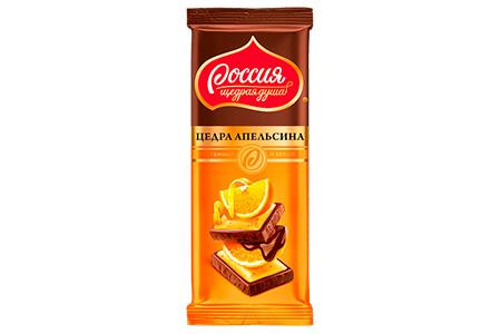 Россия щедрая душа с цедрой апельсина (золотая марка)
