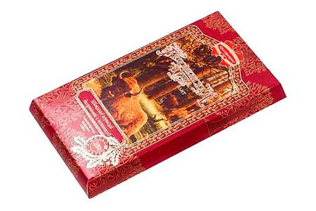 Беловежская пуща с желейной начинкой и тонким ароматом джина (Коммунарка) горький десертный шоколад