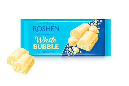 Roshen белый пористый (Рошен)