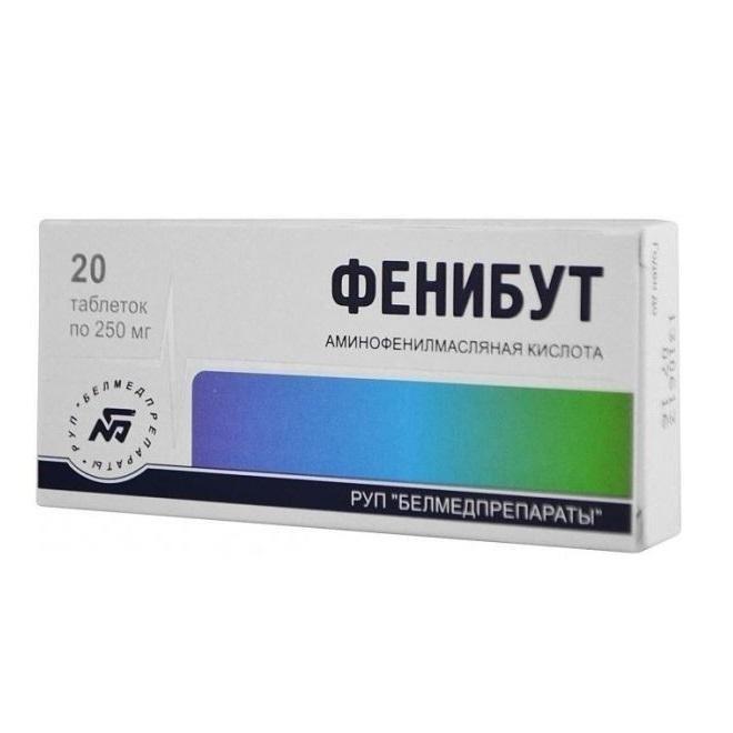 Инструкция по применению препарата Фенибут, аналоги, стоимость